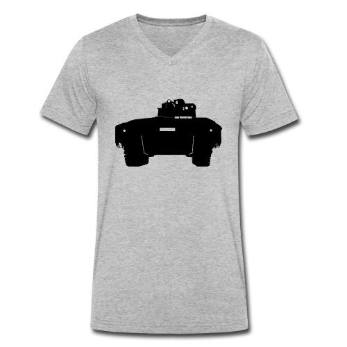SPZ Puma - Männer Bio-T-Shirt mit V-Ausschnitt von Stanley & Stella