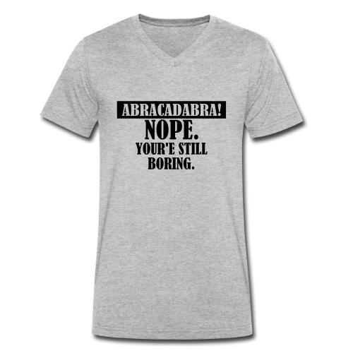 Abracadabra, Swag, Yolo, , Keep Calm, Hipster - Männer Bio-T-Shirt mit V-Ausschnitt von Stanley & Stella