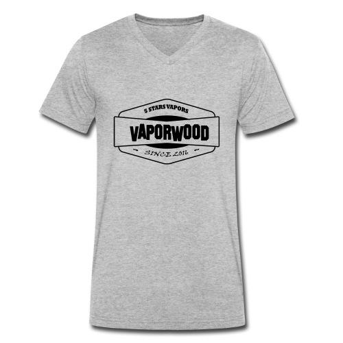 VaporwoodLogo - Männer Bio-T-Shirt mit V-Ausschnitt von Stanley & Stella