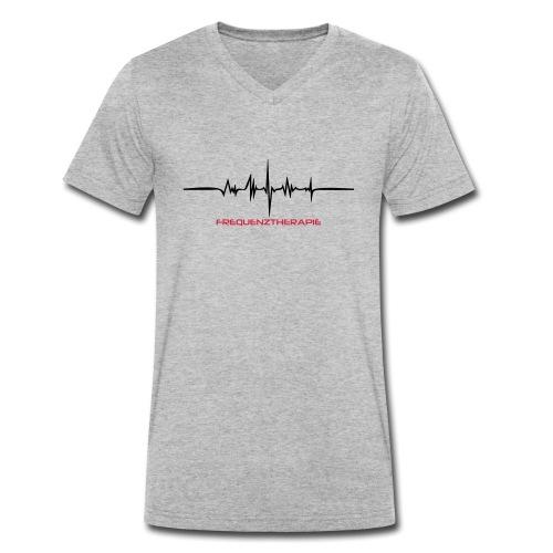 Frequenztherapie Drunk - Männer Bio-T-Shirt mit V-Ausschnitt von Stanley & Stella