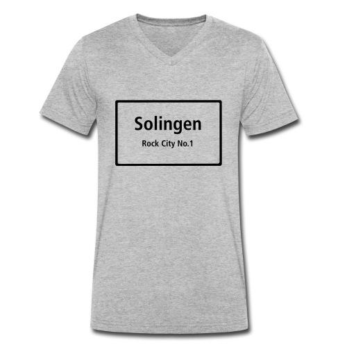 Solingen Rock City No.1 - Männer Bio-T-Shirt mit V-Ausschnitt von Stanley & Stella