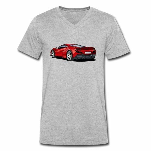 Supercar - Men's Organic V-Neck T-Shirt by Stanley & Stella