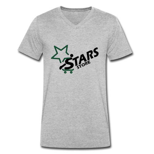 Logo Stars Store - Männer Bio-T-Shirt mit V-Ausschnitt von Stanley & Stella