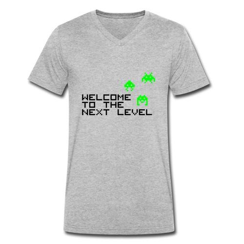 Welcome to the next level - Männer Bio-T-Shirt mit V-Ausschnitt von Stanley & Stella
