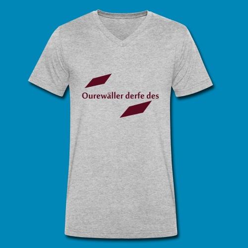 ourewaeller_derfe_des - Männer Bio-T-Shirt mit V-Ausschnitt von Stanley & Stella