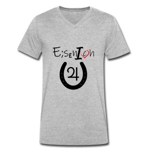EisenIch - Männer Bio-T-Shirt mit V-Ausschnitt von Stanley & Stella