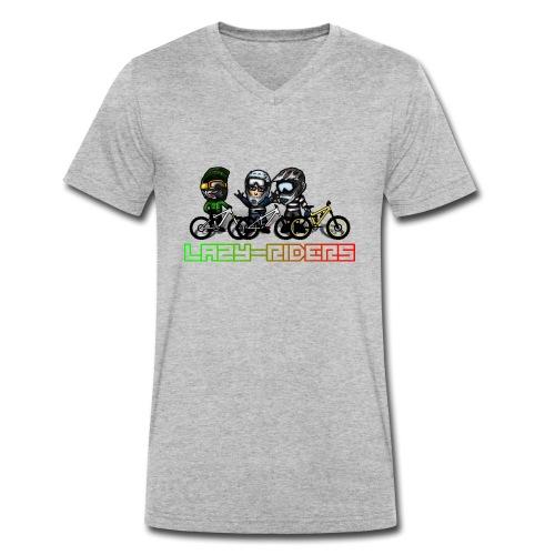 LAZY-RIDERS - Männer Bio-T-Shirt mit V-Ausschnitt von Stanley & Stella