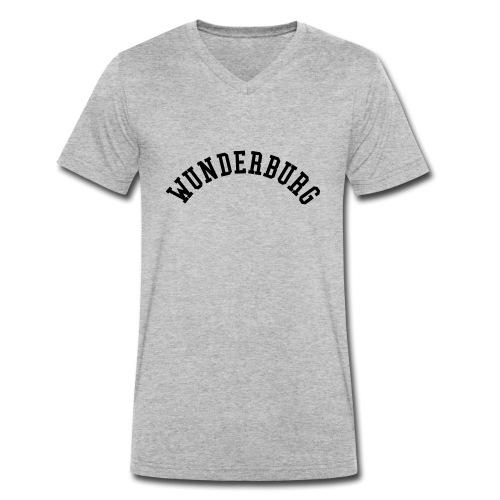 Wunderburg - Männer Bio-T-Shirt mit V-Ausschnitt von Stanley & Stella