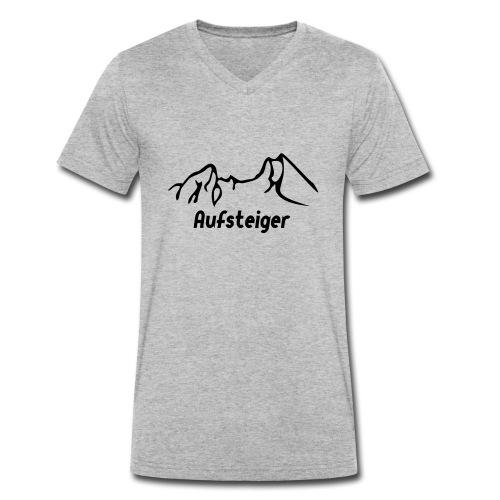 Bergsteiger Shirt - Männer Bio-T-Shirt mit V-Ausschnitt von Stanley & Stella