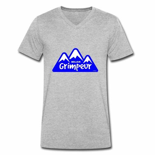Klimmer - Mannen bio T-shirt met V-hals van Stanley & Stella
