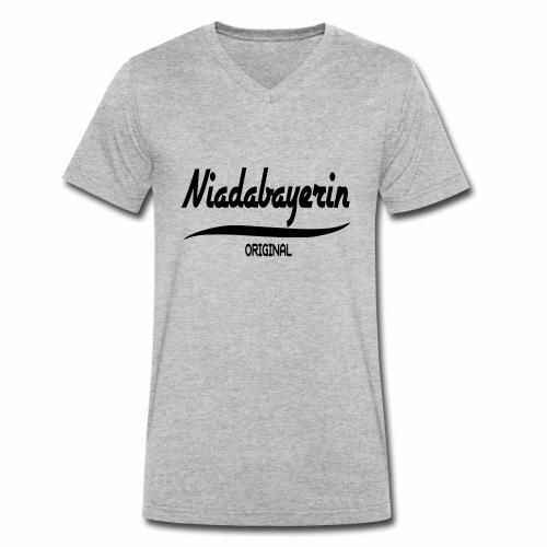 Niederbayern - Männer Bio-T-Shirt mit V-Ausschnitt von Stanley & Stella