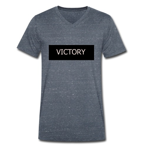 VICTORY - Men's Organic V-Neck T-Shirt by Stanley & Stella
