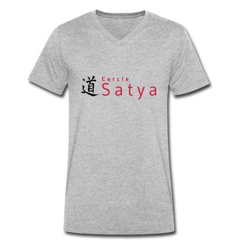 logo inline - T-shirt bio col V Stanley & Stella Homme