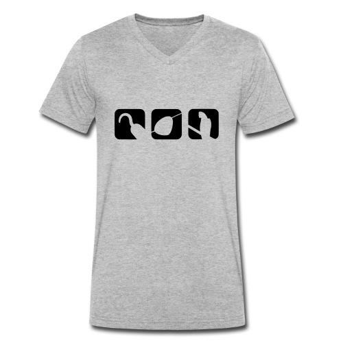 Pirate Equipment - Männer Bio-T-Shirt mit V-Ausschnitt von Stanley & Stella