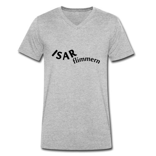 Isar_flimmern - Männer Bio-T-Shirt mit V-Ausschnitt von Stanley & Stella