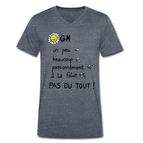 NOOGM - T-shirt bio col V Stanley & Stella Homme