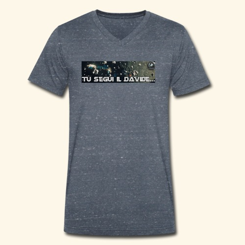 TU SEGUI IL DAVIDE... - T-shirt ecologica da uomo con scollo a V di Stanley & Stella