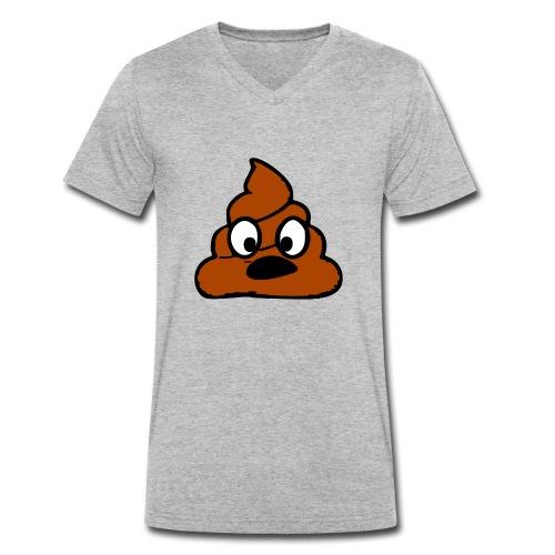 scheiß egal - Männer Bio-T-Shirt mit V-Ausschnitt von Stanley & Stella