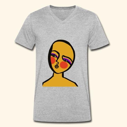 Hope - Ekologisk T-shirt med V-ringning herr från Stanley & Stella