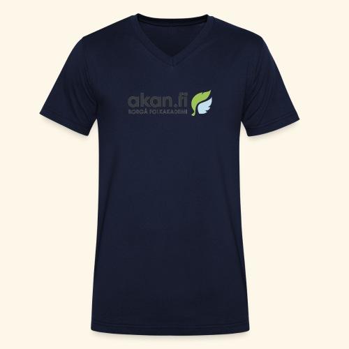 Akan Black - Ekologisk T-shirt med V-ringning herr från Stanley & Stella