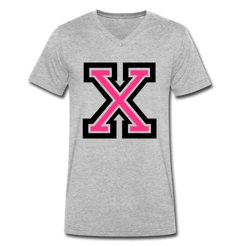 X Collegestyle 2C - Männer Bio-T-Shirt mit V-Ausschnitt von Stanley & Stella
