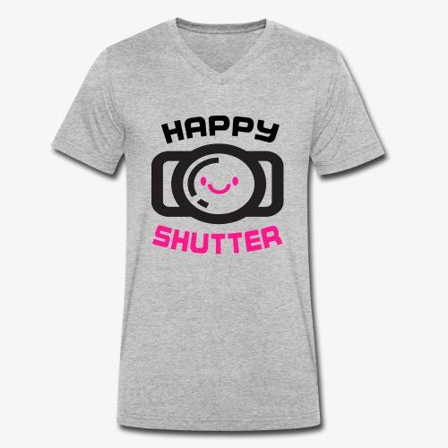 Photography 5 - Camiseta ecológica hombre con cuello de pico de Stanley & Stella