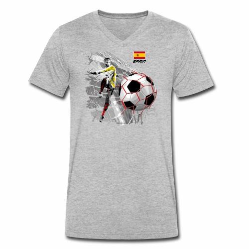 SPAIN FOOTBALL PRODUCTS - Espanya fútbol - Stanley & Stellan naisten luomupikeepaita