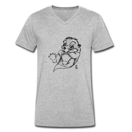 Loutre - T-shirt bio col V Stanley & Stella Homme