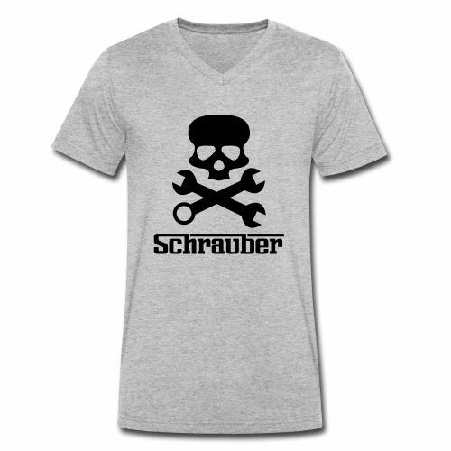 schrauber - Männer Bio-T-Shirt mit V-Ausschnitt von Stanley & Stella