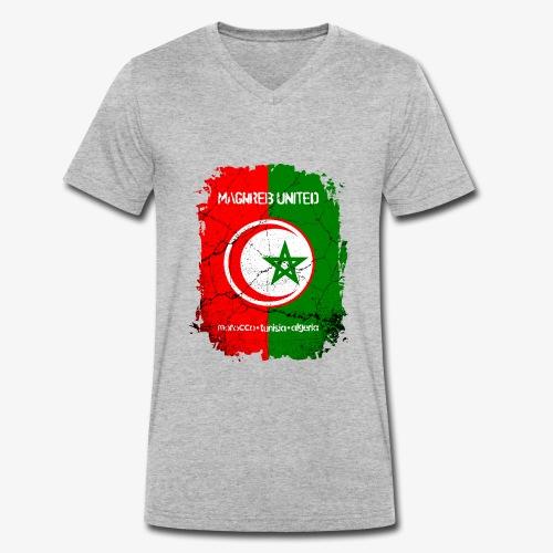 Maghreb United Nordafrika - Männer Bio-T-Shirt mit V-Ausschnitt von Stanley & Stella