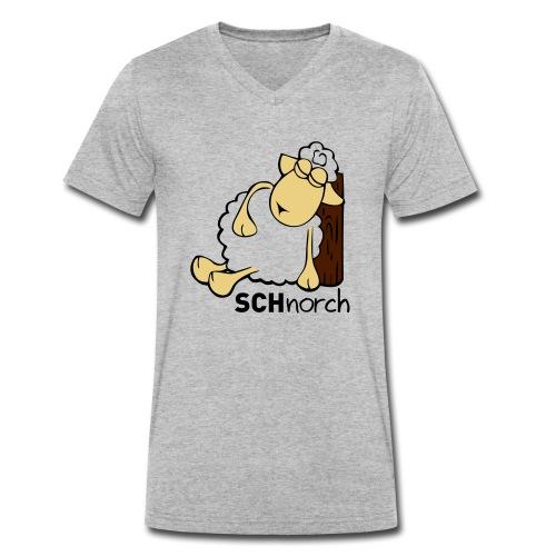 Schaf Schlaf Lustig - Männer Bio-T-Shirt mit V-Ausschnitt von Stanley & Stella