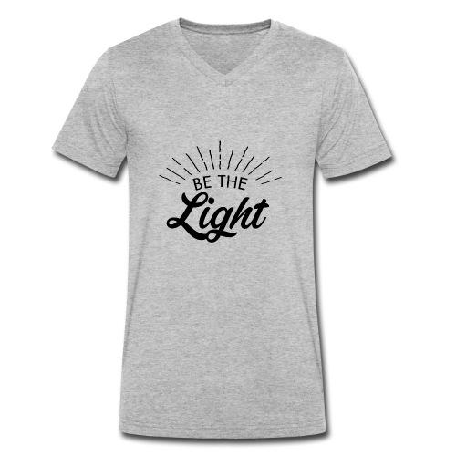 Be the light 6 N - T-shirt ecologica da uomo con scollo a V di Stanley & Stella