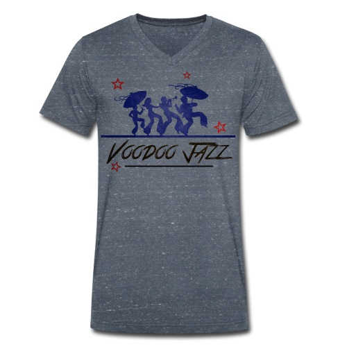 Jazz band vintage - T-shirt bio col V Stanley & Stella Homme