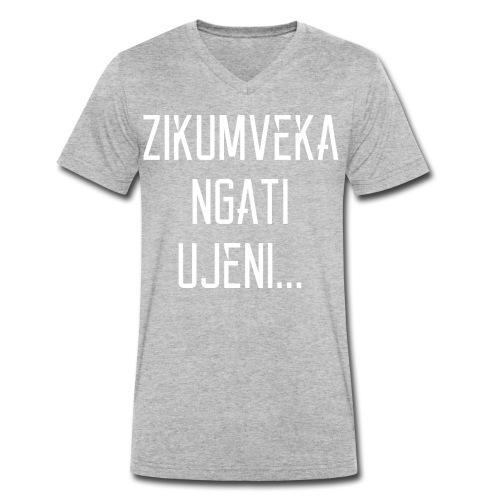 Zikumveka Ngati Ujeni - Men's Organic V-Neck T-Shirt by Stanley & Stella