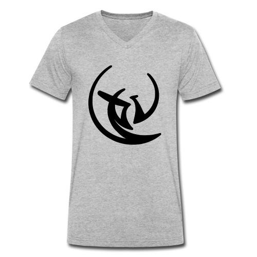 BCLogoSmall - Männer Bio-T-Shirt mit V-Ausschnitt von Stanley & Stella