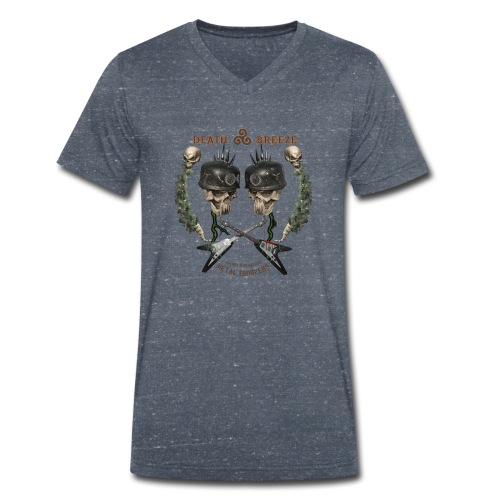 Metal Troopers, Metaller die es etwas härter mög - Männer Bio-T-Shirt mit V-Ausschnitt von Stanley & Stella
