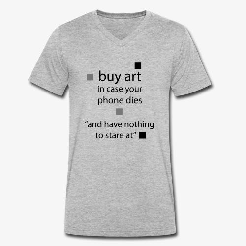 buy Art - Männer Bio-T-Shirt mit V-Ausschnitt von Stanley & Stella