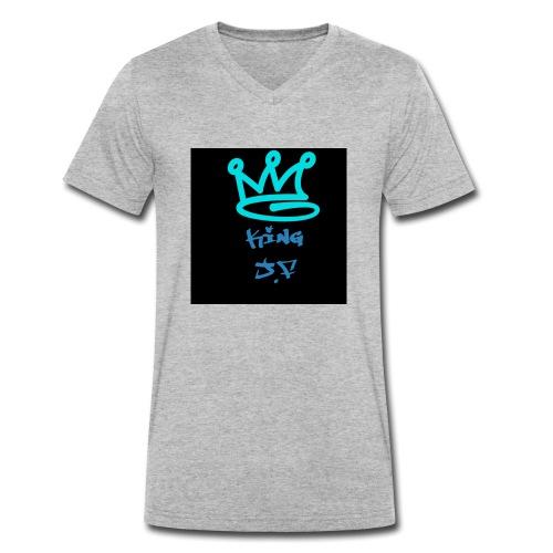 King - Männer Bio-T-Shirt mit V-Ausschnitt von Stanley & Stella