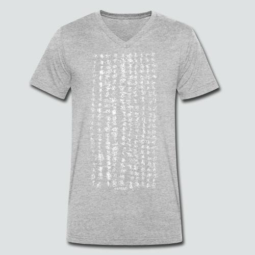 Labugraphie 1 png - Männer Bio-T-Shirt mit V-Ausschnitt von Stanley & Stella