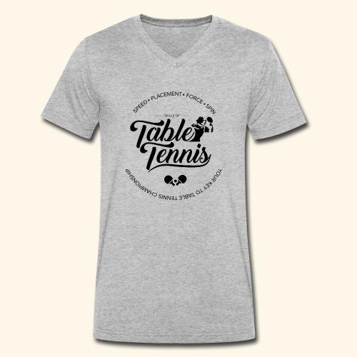 Key to Table tennis championship - Männer Bio-T-Shirt mit V-Ausschnitt von Stanley & Stella