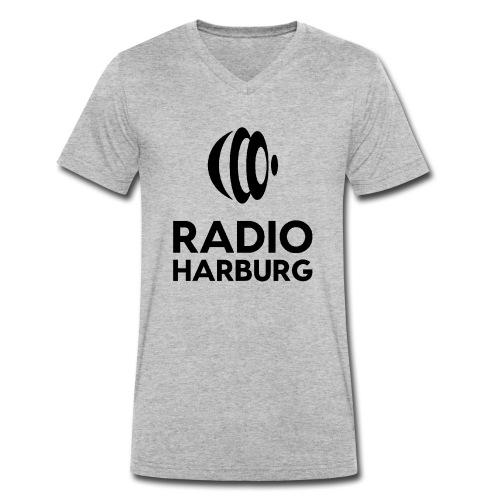 Radio Harburg - Männer Bio-T-Shirt mit V-Ausschnitt von Stanley & Stella