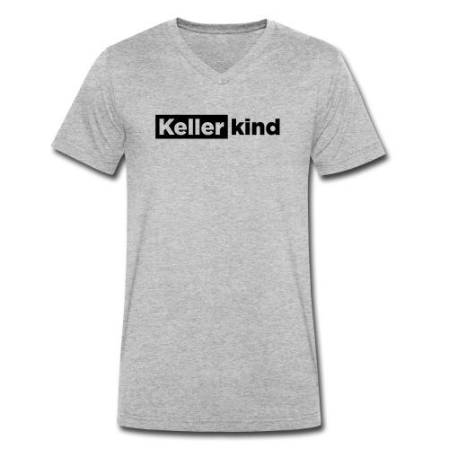 Kellerkind – Geschenkidee - Männer Bio-T-Shirt mit V-Ausschnitt von Stanley & Stella
