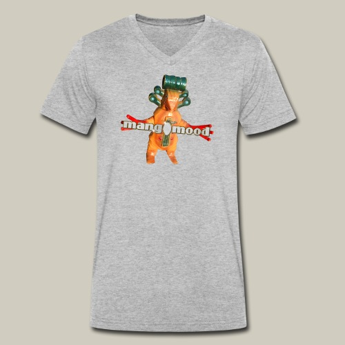 monster - Männer Bio-T-Shirt mit V-Ausschnitt von Stanley & Stella