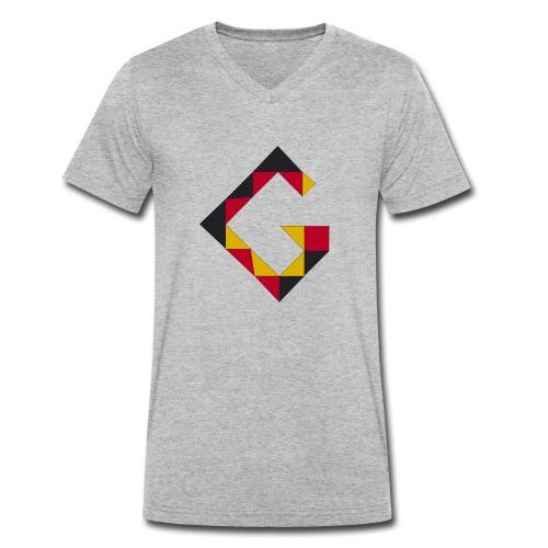 G wie Germany - Männer Bio-T-Shirt mit V-Ausschnitt von Stanley & Stella