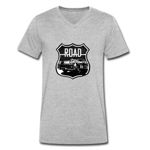 Route66 - T-shirt bio col V Stanley & Stella Homme