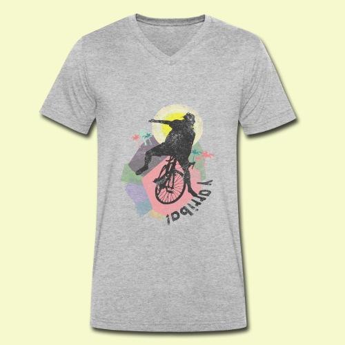 | Y arriba y arriba | Pedalensport Veloist | - Männer Bio-T-Shirt mit V-Ausschnitt von Stanley & Stella