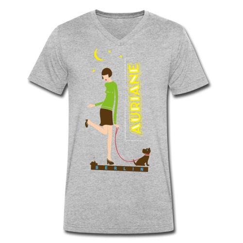 Berliner Luft - Männer Bio-T-Shirt mit V-Ausschnitt von Stanley & Stella