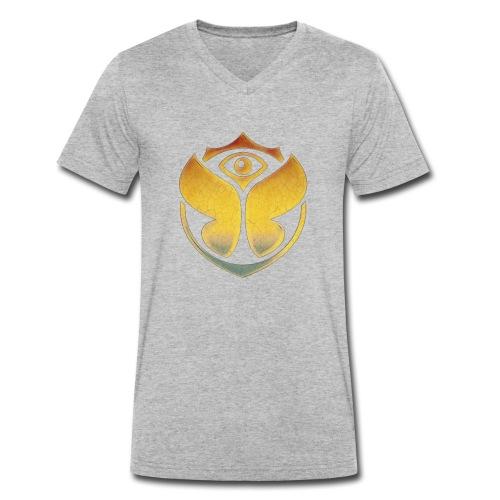 Tomorrowland - Mannen bio T-shirt met V-hals van Stanley & Stella
