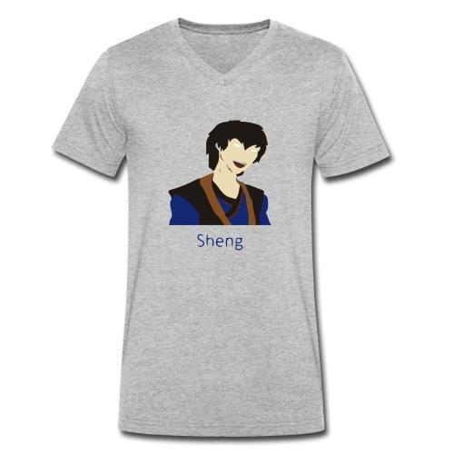 Sheng Canon - Økologisk Stanley & Stella T-shirt med V-udskæring til herrer