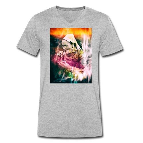 fumeuse bretonne - T-shirt bio col V Stanley & Stella Homme